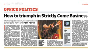 City AM Strictly